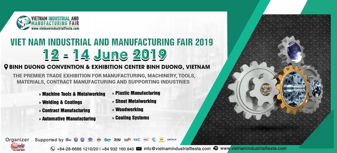Vietnam Industrial & Manufacturing Fair 2019 (VIMF 2019